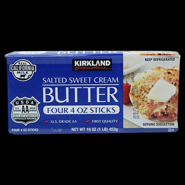 커클랜드 시그니춰 솔티드 가염 크림 버터 453g