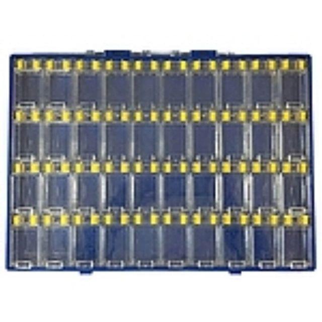 투명커버 SMD칩박스 파일케이스 세트 소형 케이스