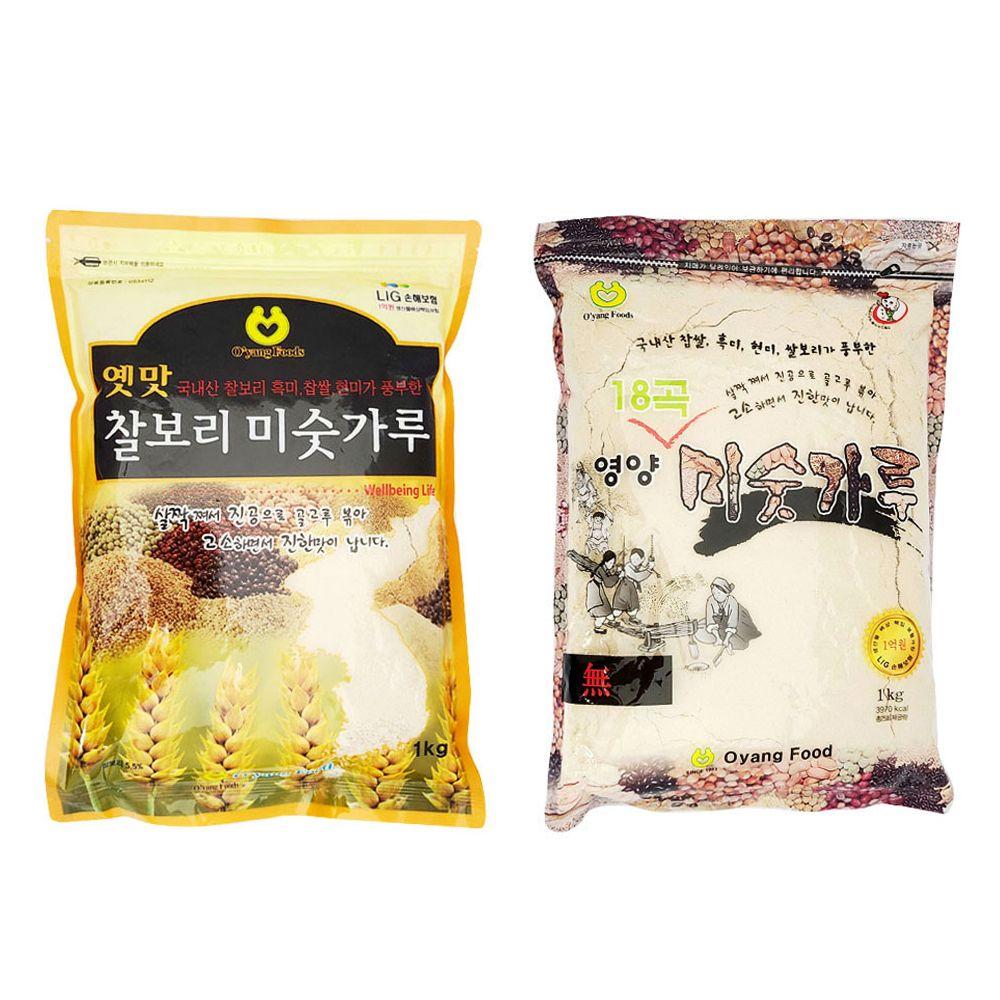 찰보리 미숫가루/ 영양 18곡미숫가루/ 아침대용/ 간식