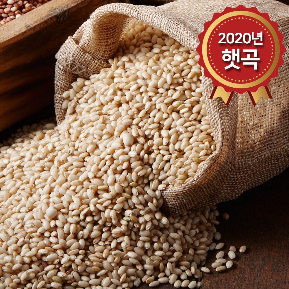 (논앤밭위드) 2020년 햇곡 찰현미(국산) 1kg