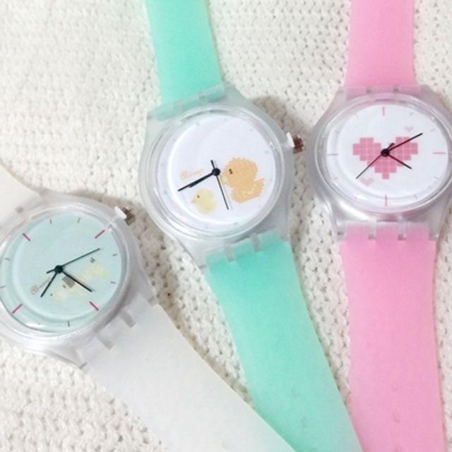 반투명손목시계