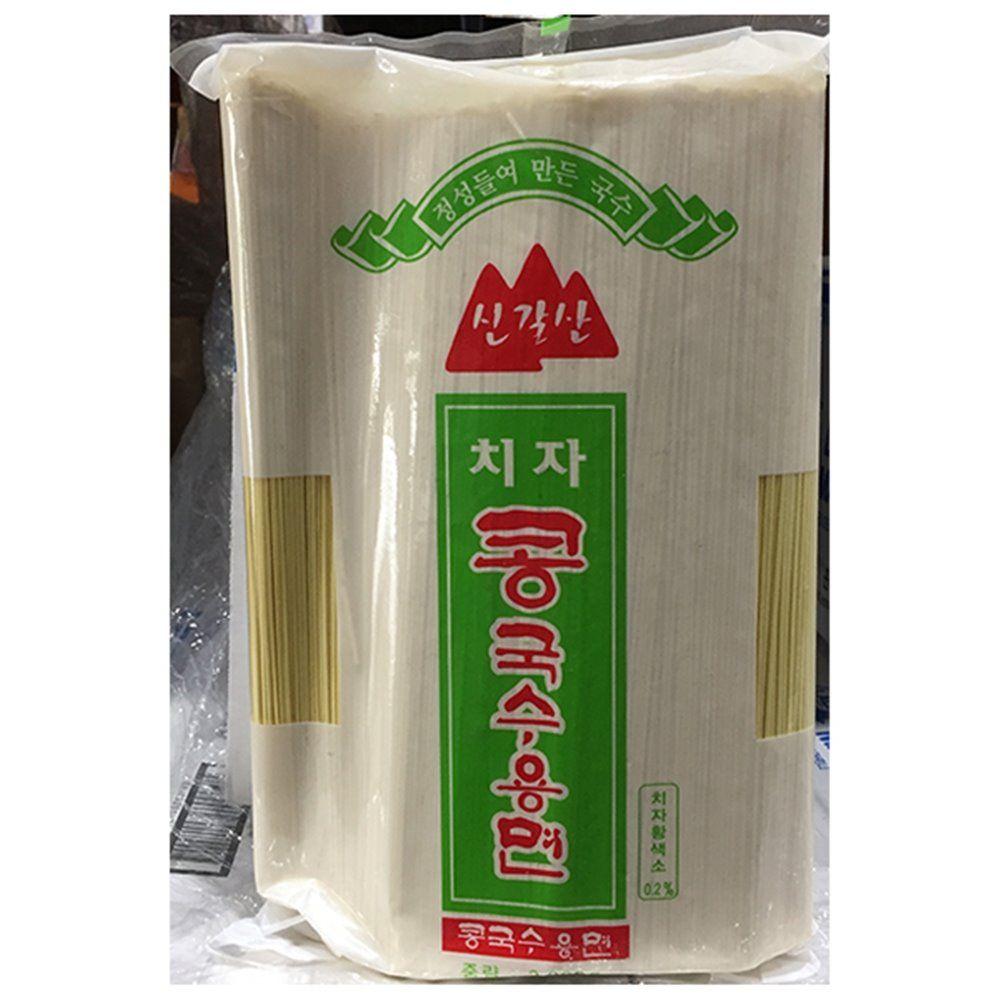 업소용 식당 식자재 신갈산 치자콩국수면 3Kg X6