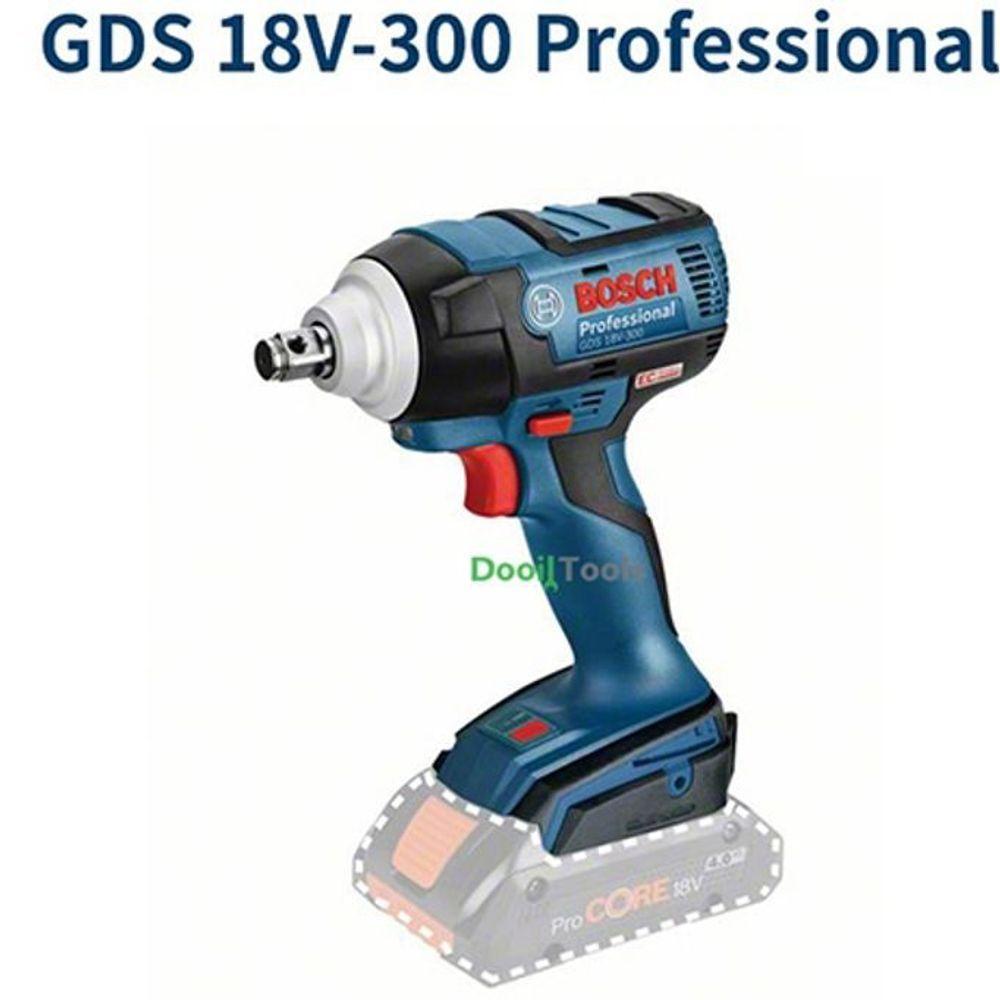 BOSCH 충전 임팩렌치 GDS18V-300 본체 전동렌치
