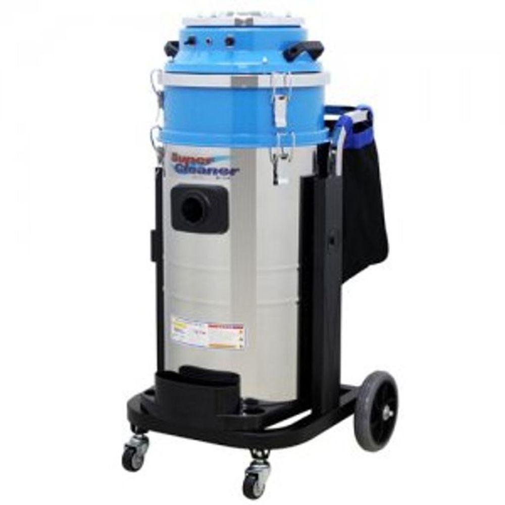 공업용 습식 청소기 75L 업소용 산업용 청소 도구