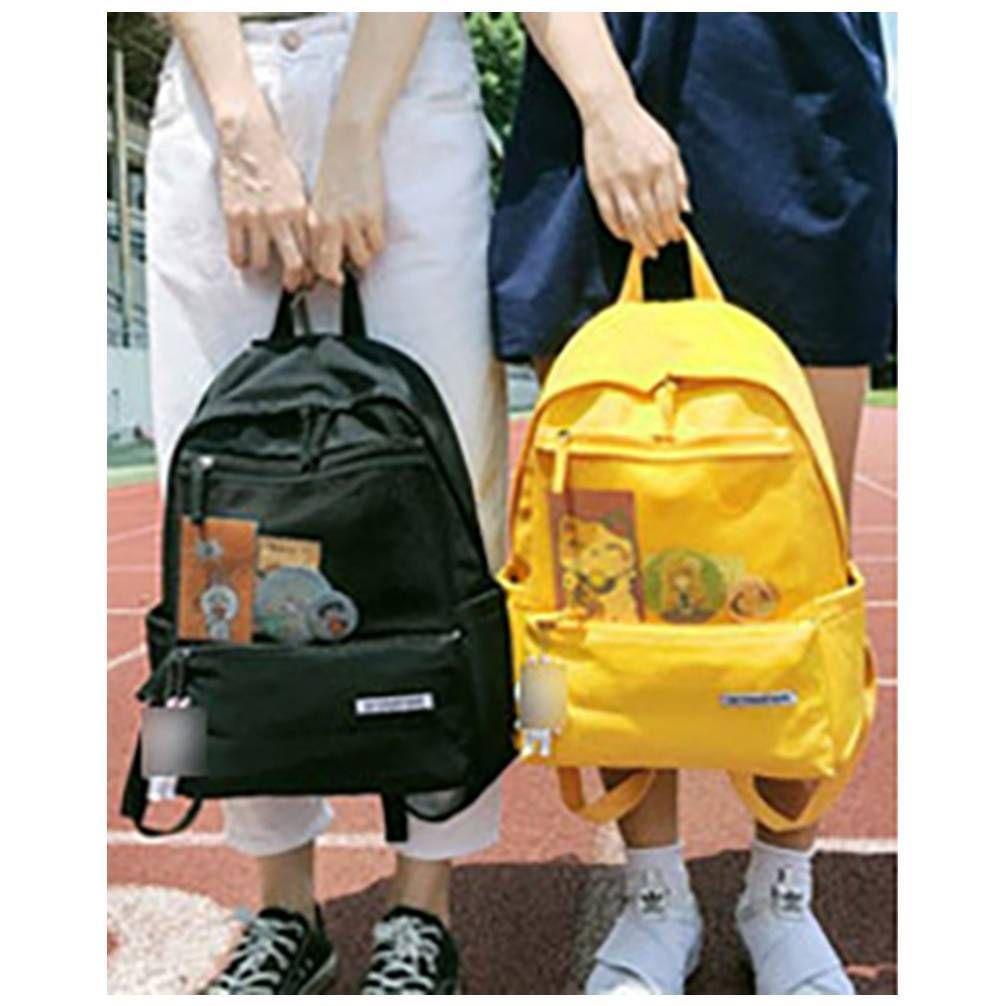 경량 캐릭터 백팩 전면 망사 책가방 신상 인기 가방