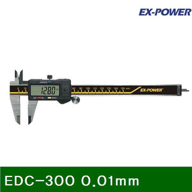 디지매틱 캘리퍼 EDC-300 0.01mm 스테인레스 (1EA)
