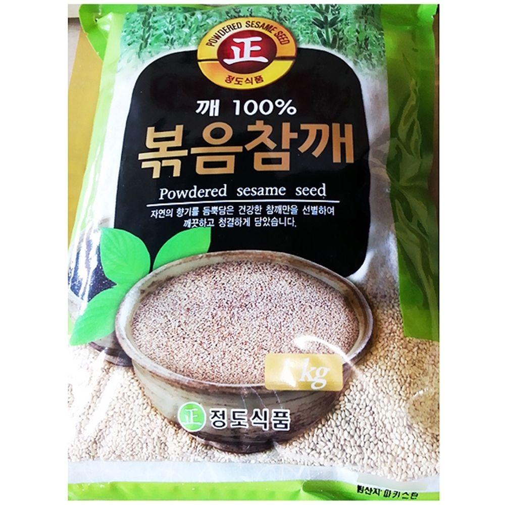 정도 볶음참깨 잡곡 식자재유통 (1KgX1개)