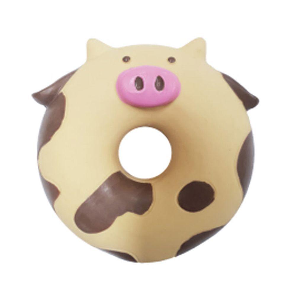 반려동물 강아지 귀여운 장난감 칼리 도넛 카우