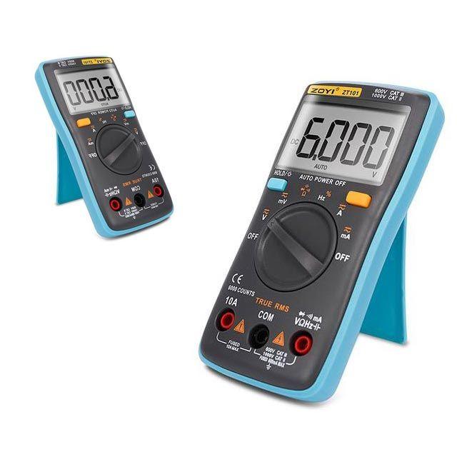 멀티 휴대용 전기 전압 측정기 디지털 전류 테스터기
