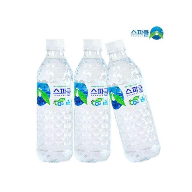 스파클 500ml X 20개 생수 음료 먹는샘물 스파클워터