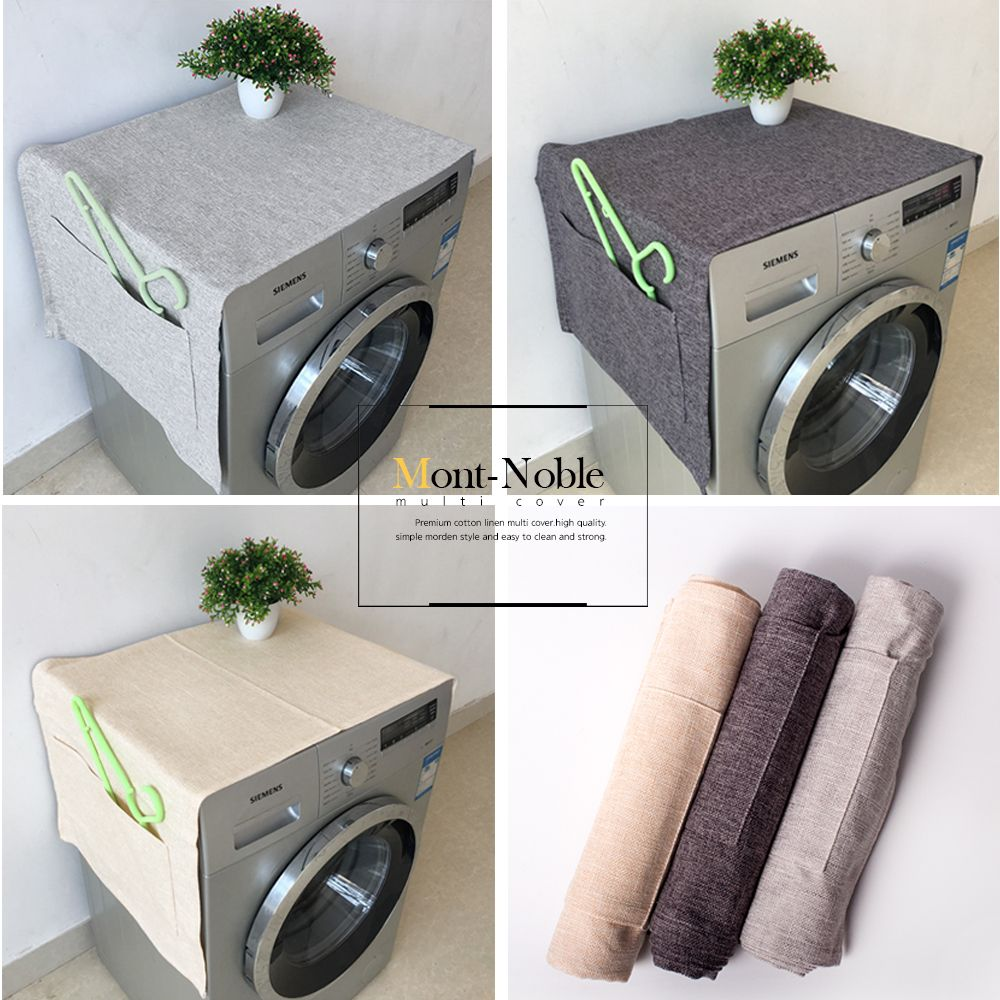 세탁기 건조기 커버 덮개 다용도 커버(중)