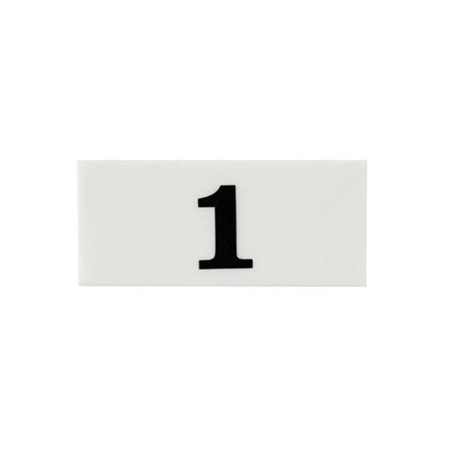 아크릴 번호판 흰색 사각 좌석 팻말 숫자 알림판 팻말