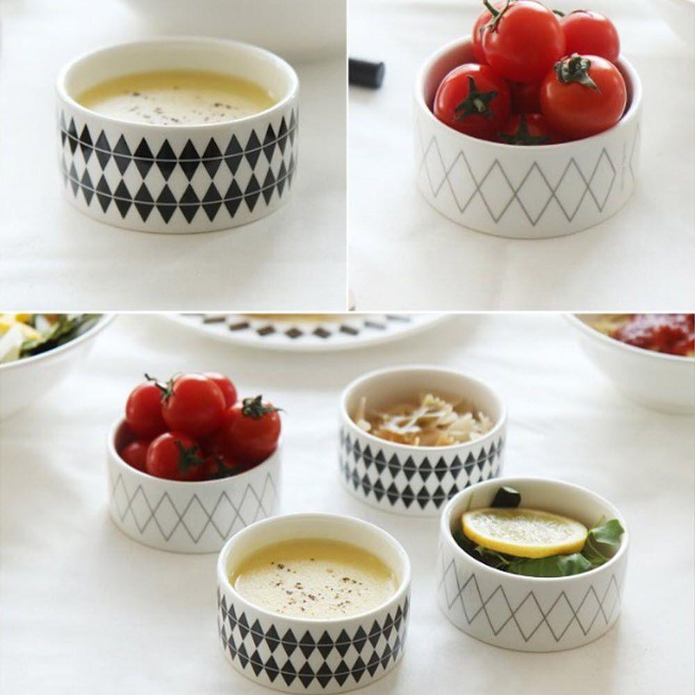 찬기 세트 북유럽 스타일 디저트 에피타이저 그릇