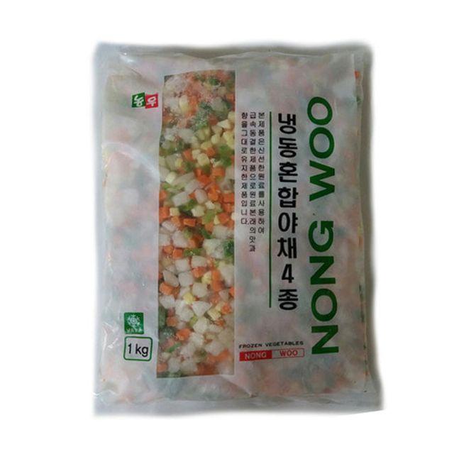 냉동 혼합야채 4종_볶음밥용 1kg 요리재료 농우