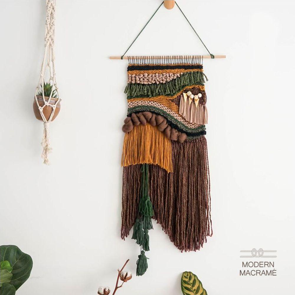 타피스트리 가을바람 DIY 키트 마크라메 재료