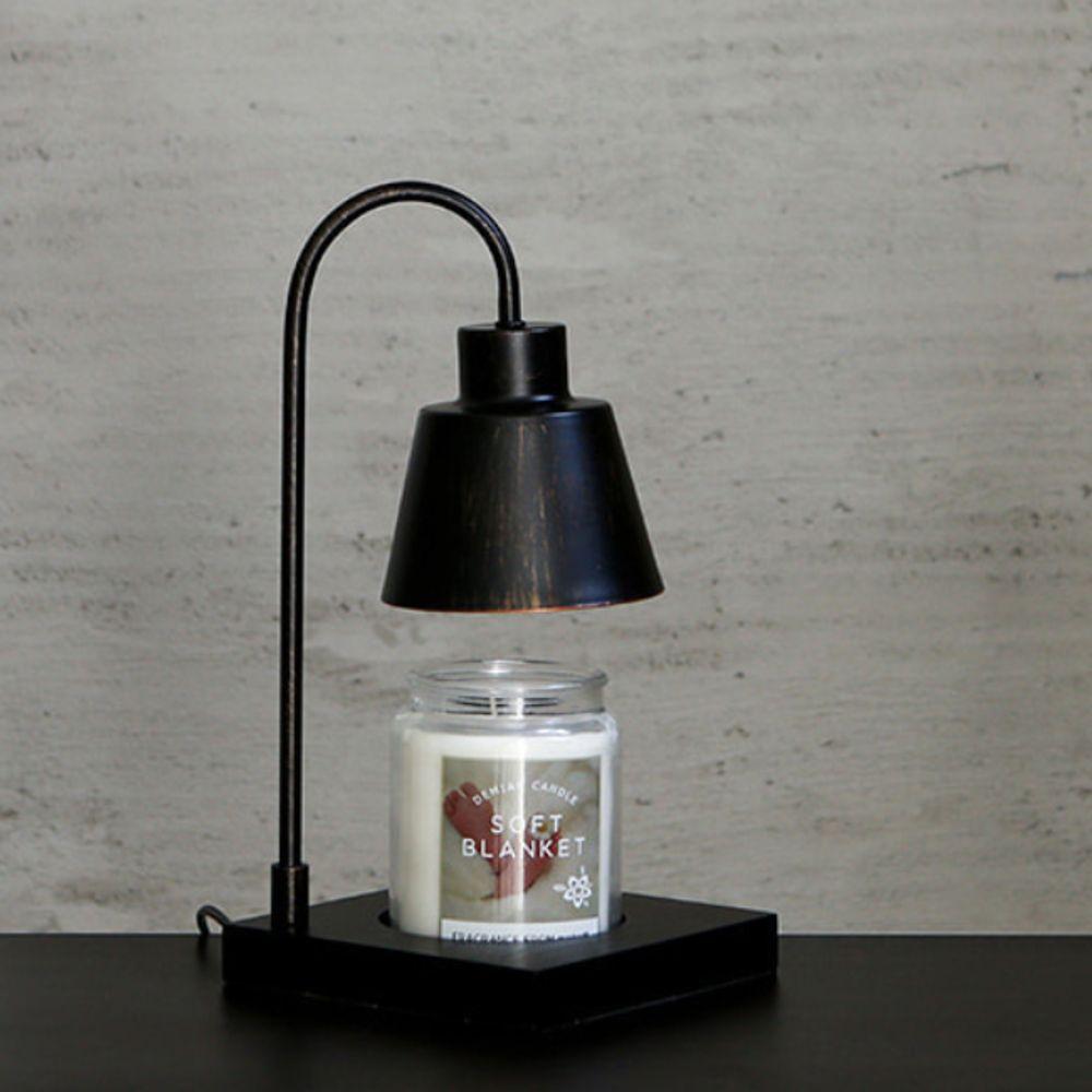 마켓비 NEW SAMONY 캔들 램프 앤틱블랙 블랙+향초