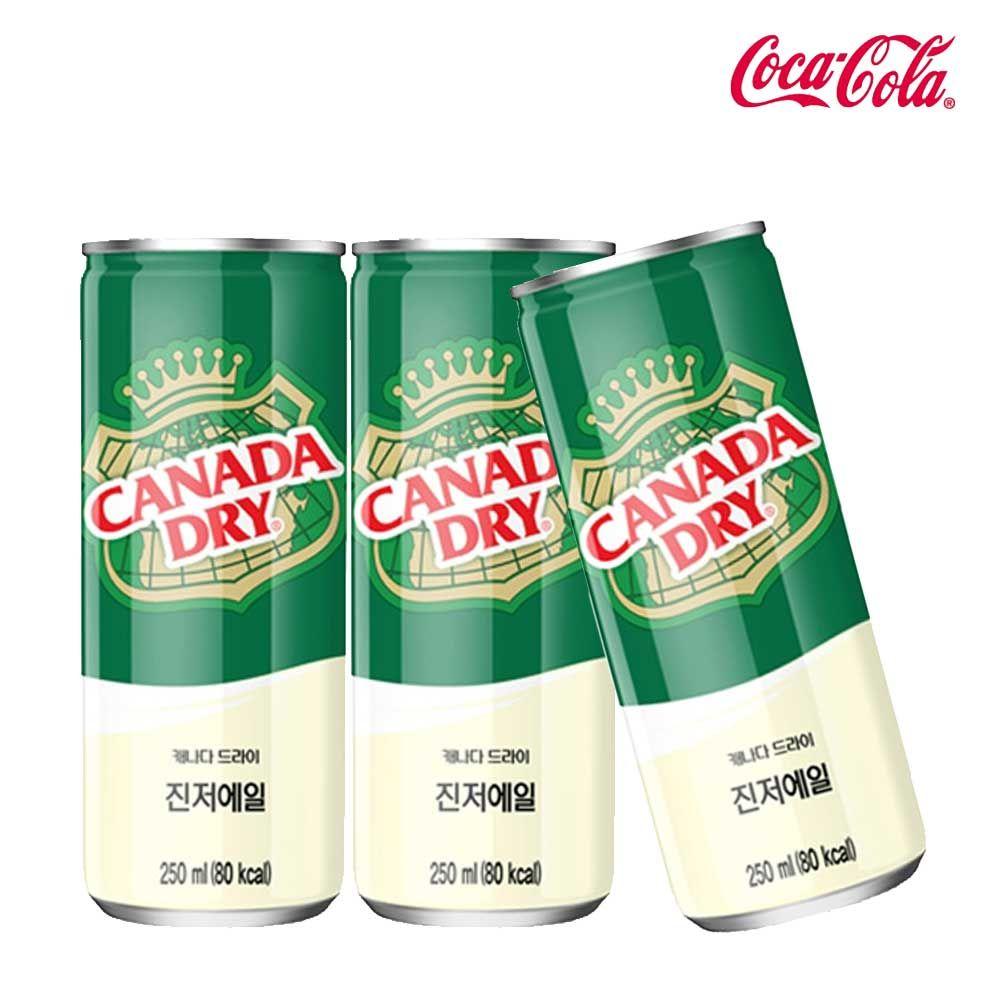 캐나다드라이 진저에일 250ml X 30개 탄산음료