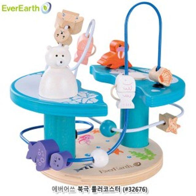 에버어쓰 북극 롤러코스터 어린이 장난감 비즈 세트