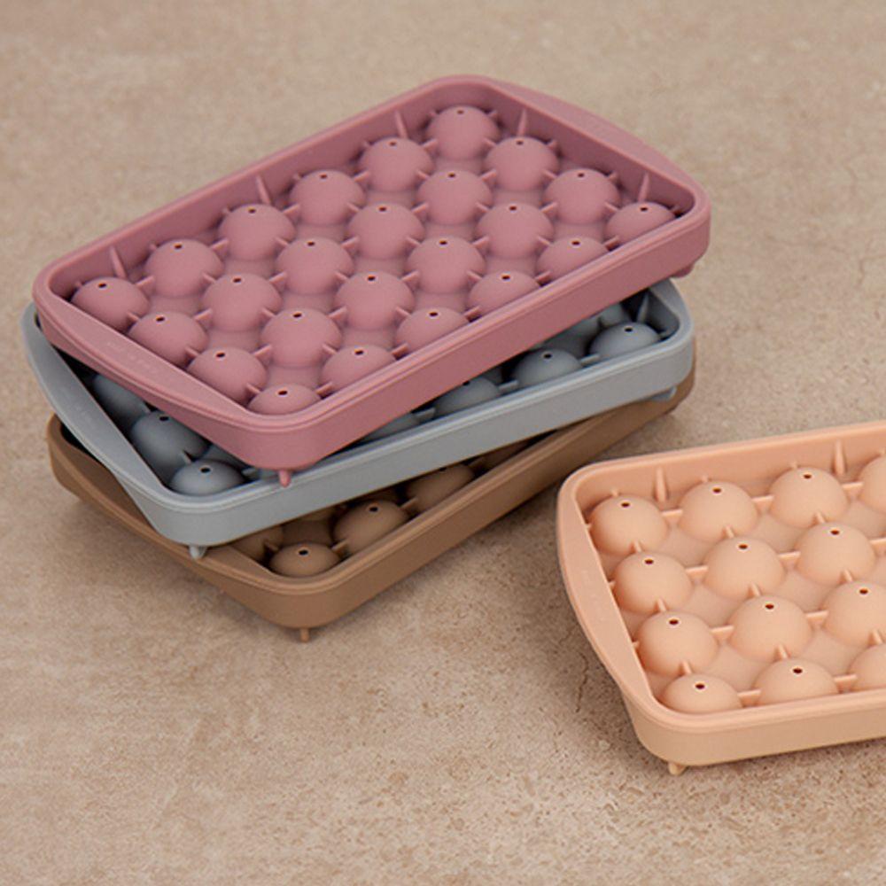 냉동실얼음 실리콘 얼음 트레이 미니볼 초콜릿틀 다진 마늘 보관 냉장고얼음 아이스볼몰드 다이아몬드모양