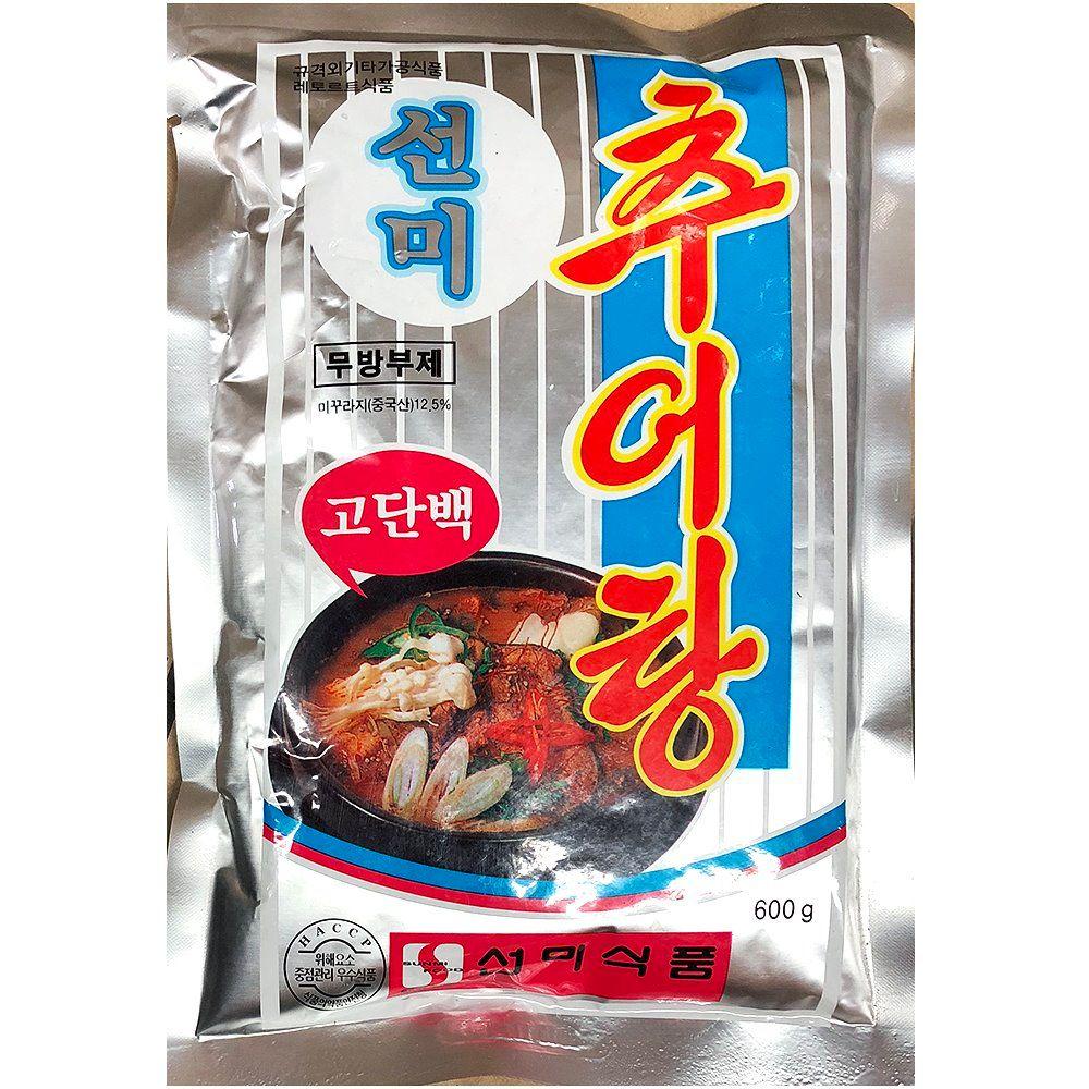 업소용 식당 식자재 재료 선미식품 추어탕 600g X25
