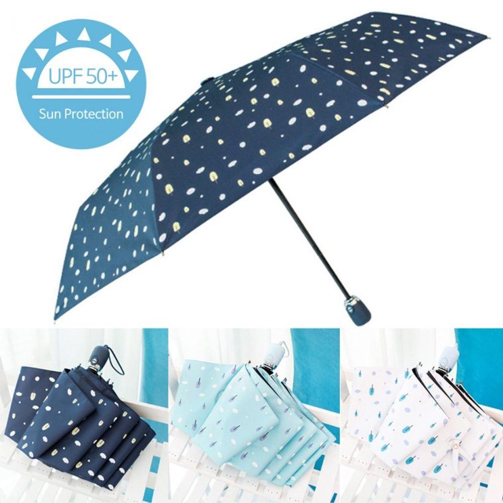 UV 미니숲 3단 자동우산 자외선차단 암막 우산 우양산