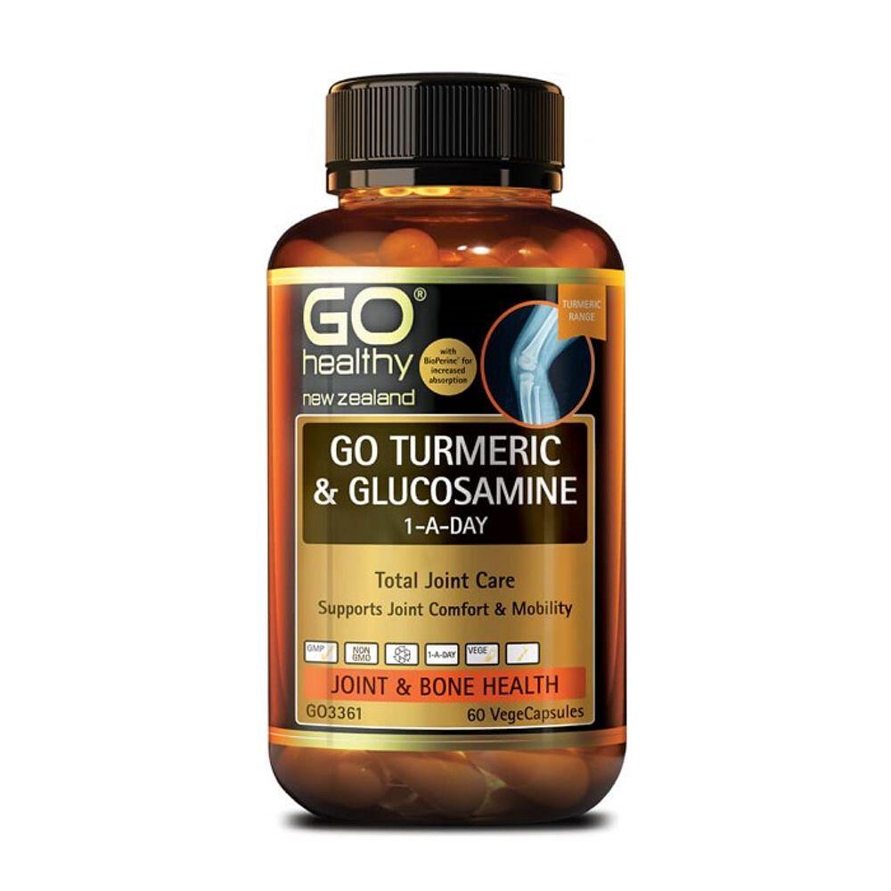 뉴질랜드 고헬씨 강황 글루코사민 1-A-Day 60캡슐