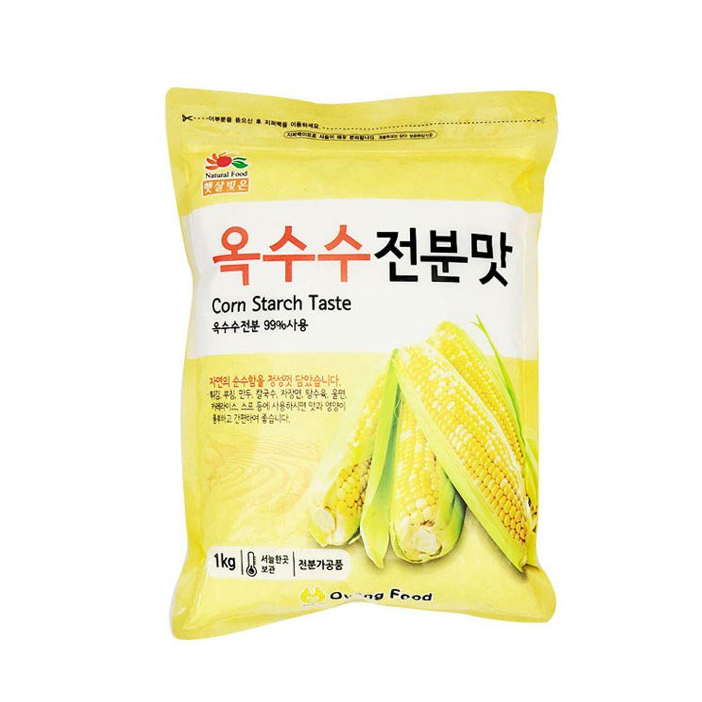 햇살빚은 옥수수전분맛 1kg/ 튀김 부침 탕수육 스프