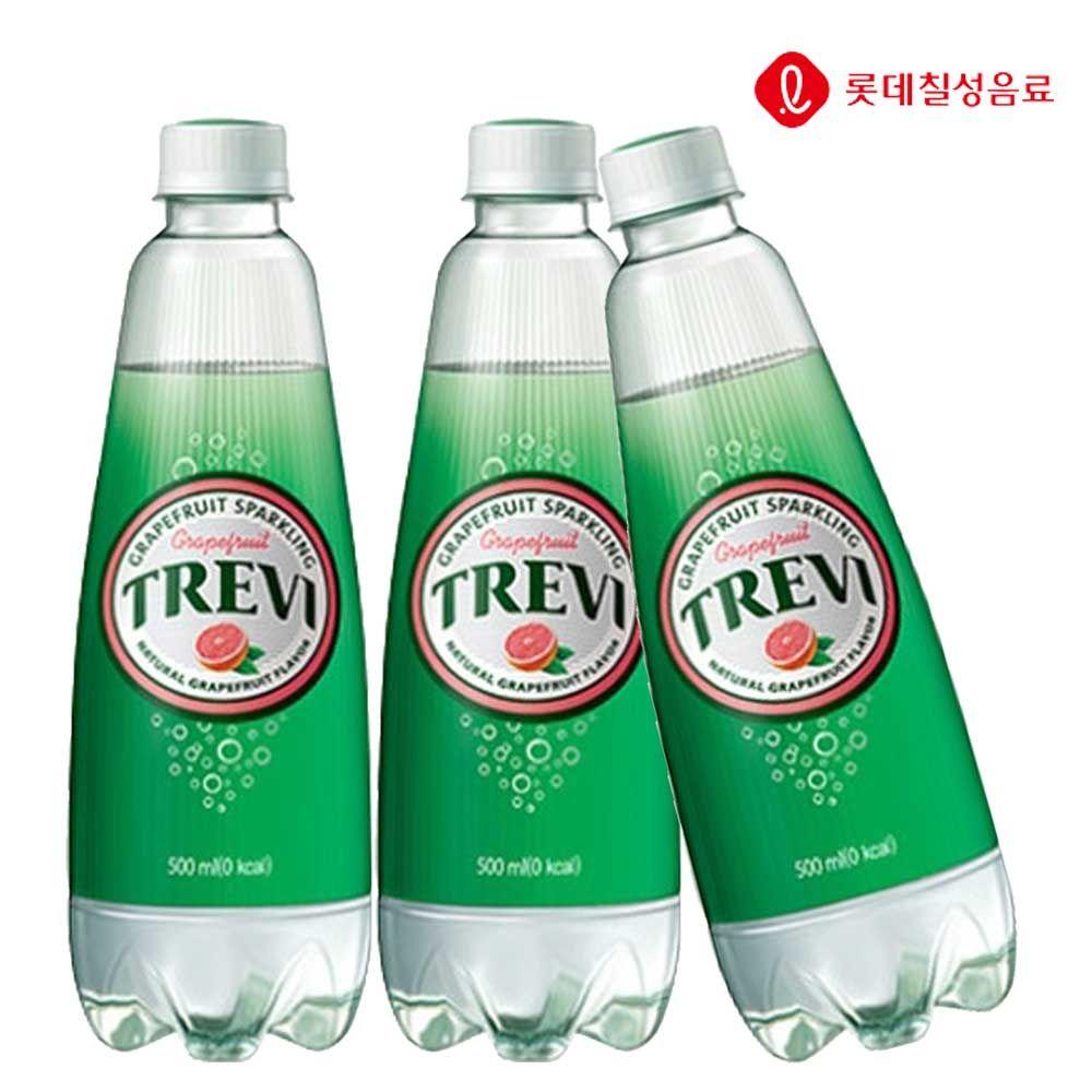 트레비 자몽 500ml X 12개 탄산음료/탄산수/탄산/음료