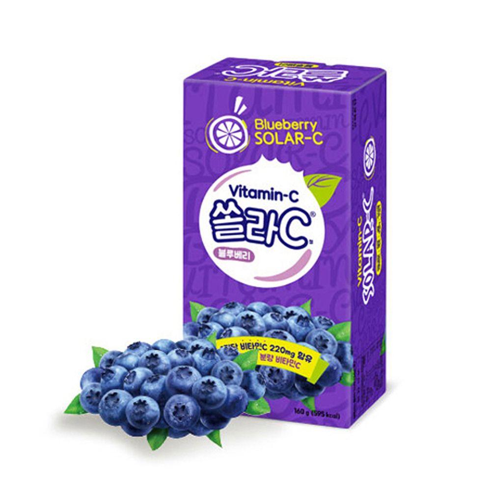 쏠라C 블루베리맛 2gx80정 / 츄어블 캔디 비타민C 쏠