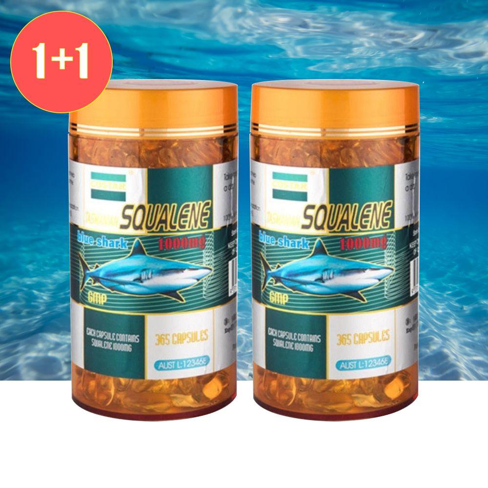 호주 코스타 스쿠알렌 1000mg 365캡슐 2개세트