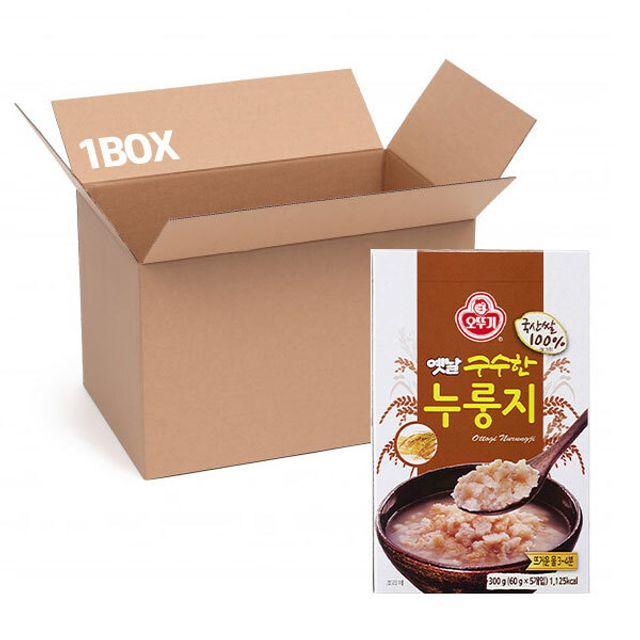 오뚜기 옛날 누룽지(케이스) 60gx5 (1box 12입)