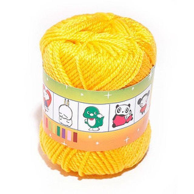 털실(노랑-45g) 사무용품 문구 교재류 준비물 실과교재 털실