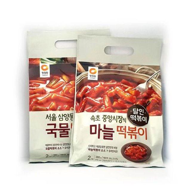 삼양동 국물떡볶이 속초 마늘 떡볶이 간편 조리식품