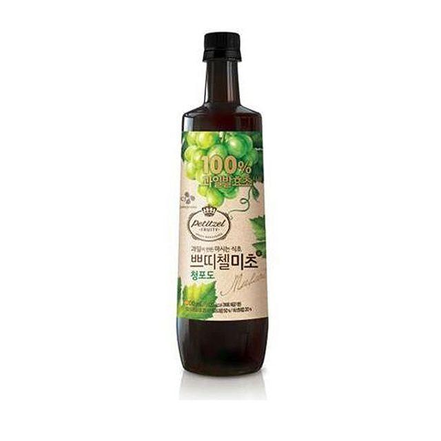 쁘띠첼 미초 청포도 500ml/홍초/흑초/식초음료