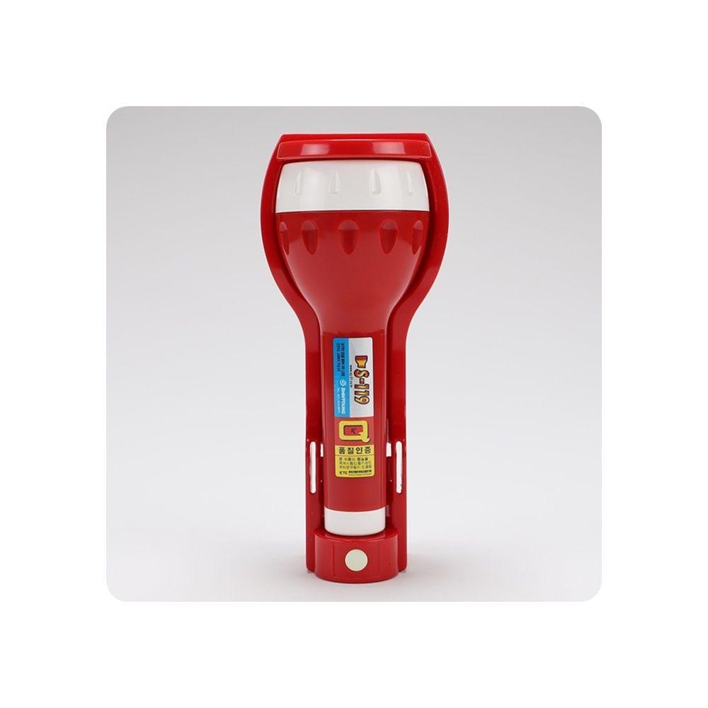 휴대용비상조명등 신영 LED 알람형 소화기받침대