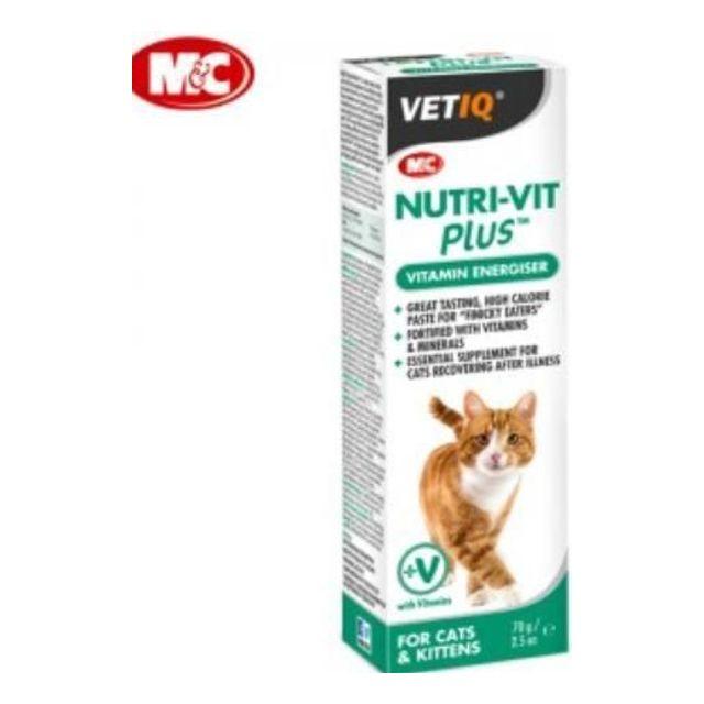 M_C 뉴트리빗 플러스 (종합영양제)70g 고양이용