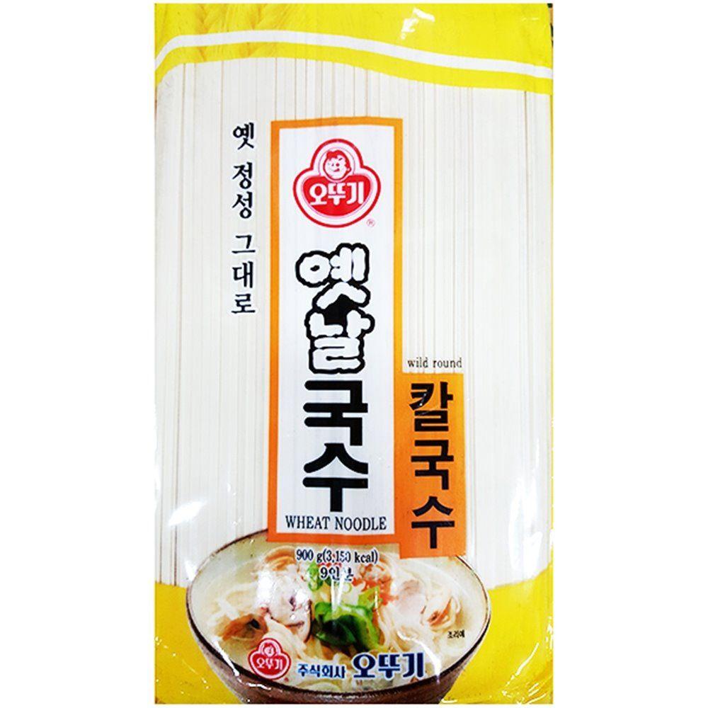 식당 업소 식재료 칼국수(오뚜기 900g)X5