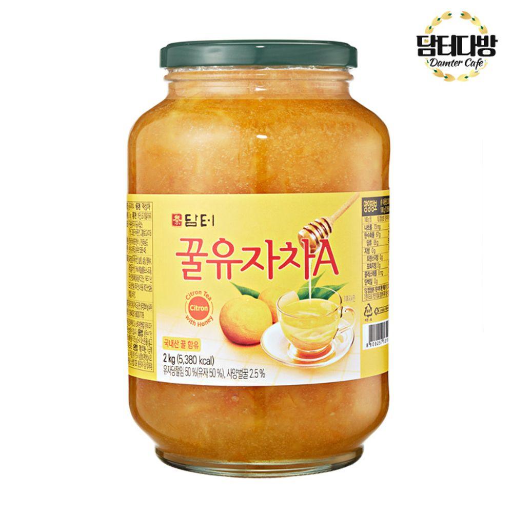 담터 꿀유자차(A) 2kg