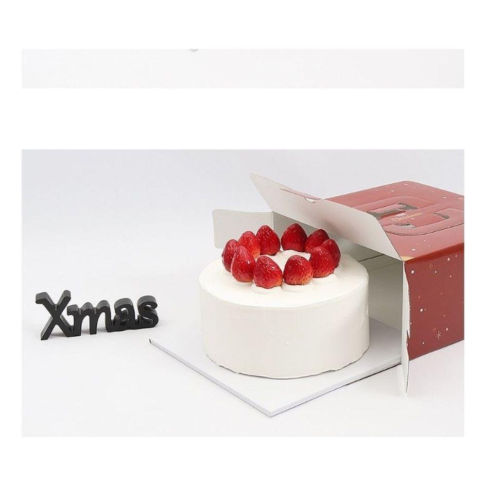 크리스마스 케이크 박스 제과 1호 210x210x122 50EA