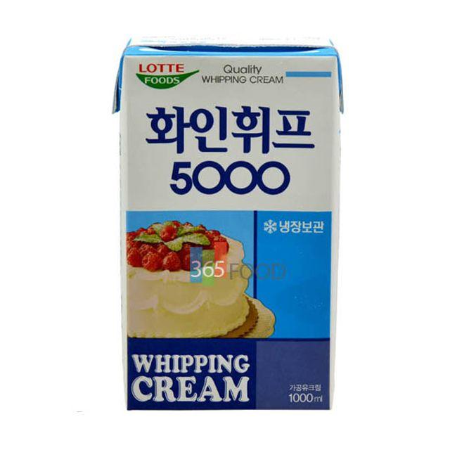 롯데푸드 화인휘프 5000 1000ml