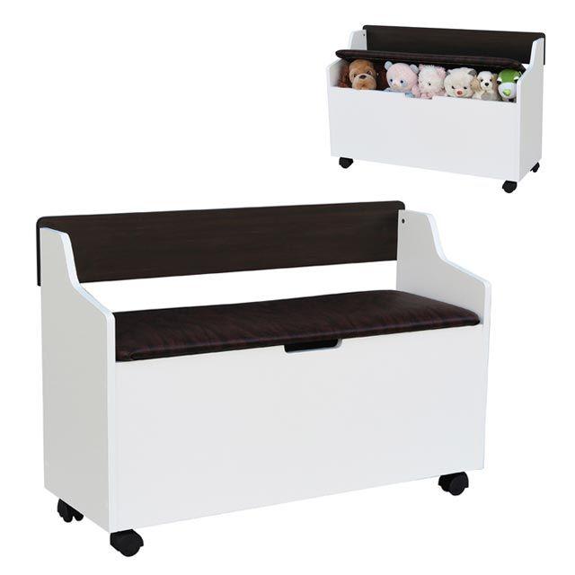 2인용 수납형 벤치 스툴 나무 보관 등받이 소파 의자