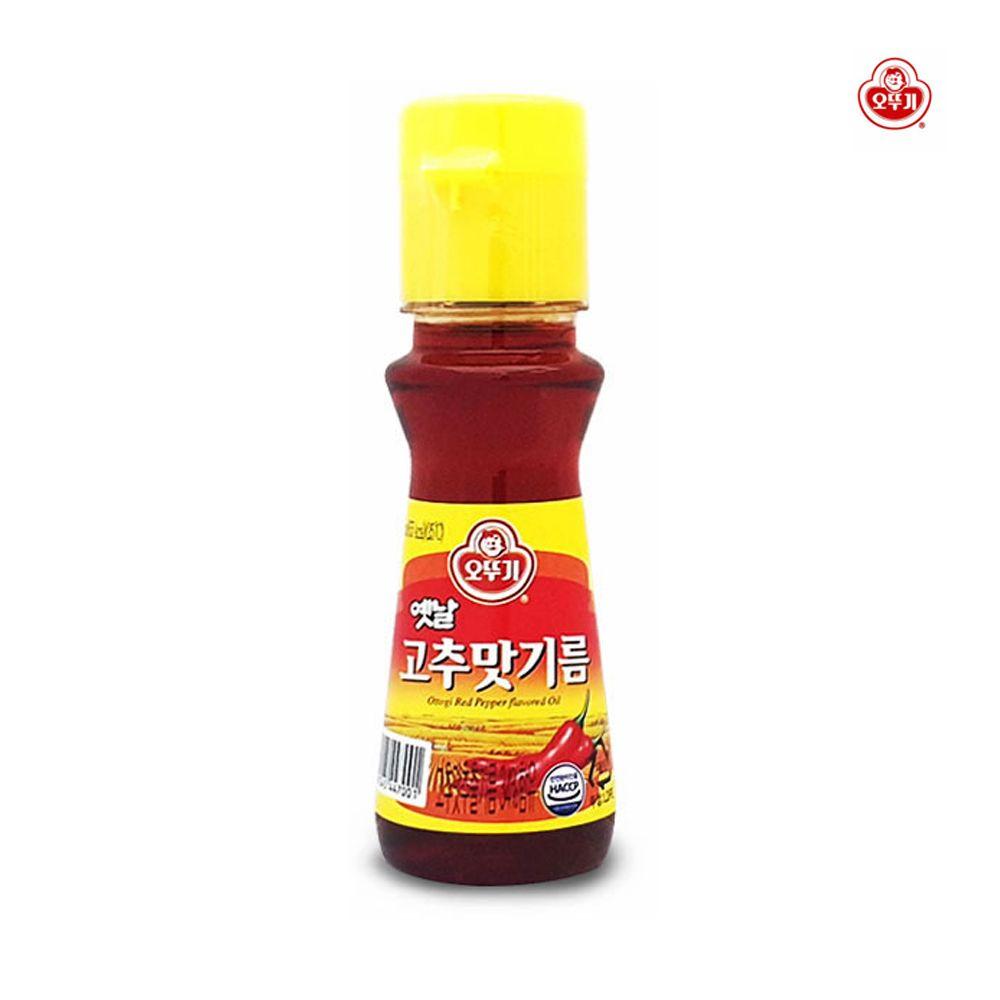 오뚜기 옛날 고추맛기름 80ml/ 간편요리 /고추기름