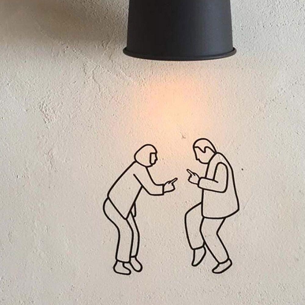 희망S 댄스 인테리어 스티커 / 거실 주방 DIY 셀프