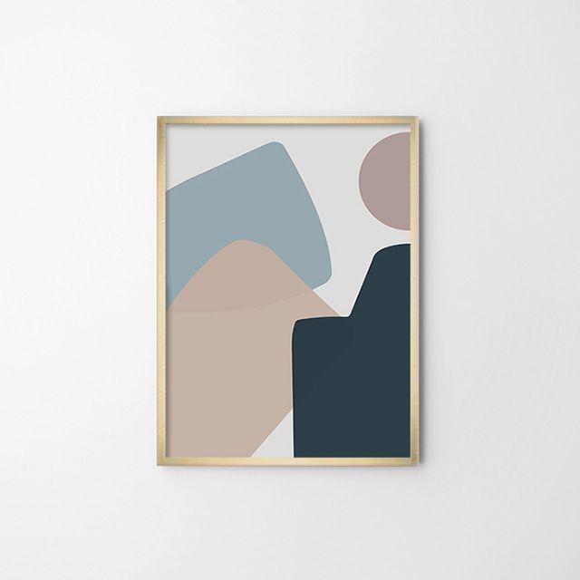 드로잉 포스터(SOFT OBJET) 일러스트 그림 벽장식소품