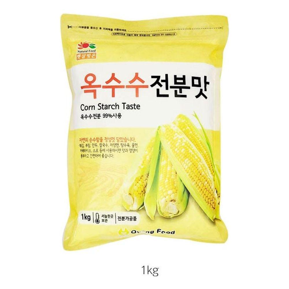 햇살빚은 옥수수 전분맛 1kg 튀김 부침 만두 칼국수