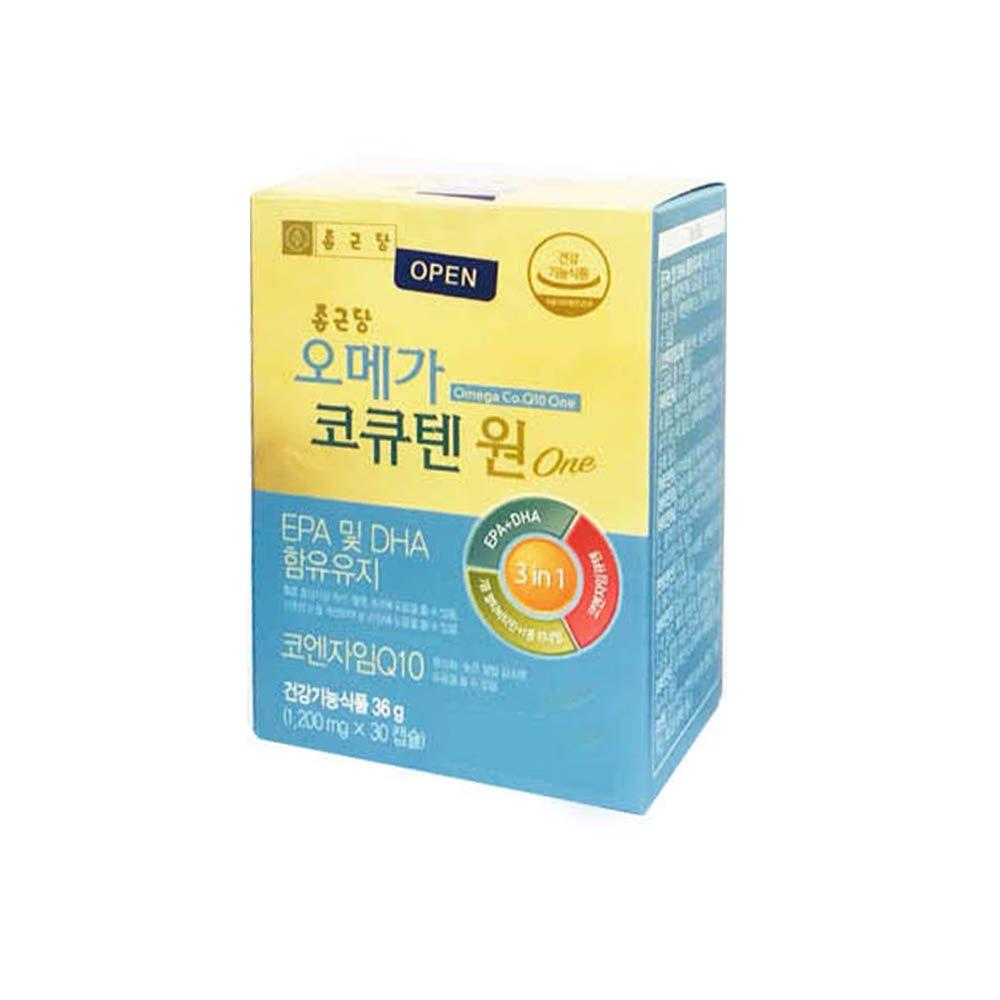 종근당 멀티비타민 미네랄 코엔자임Q10 EPA DHA 90C