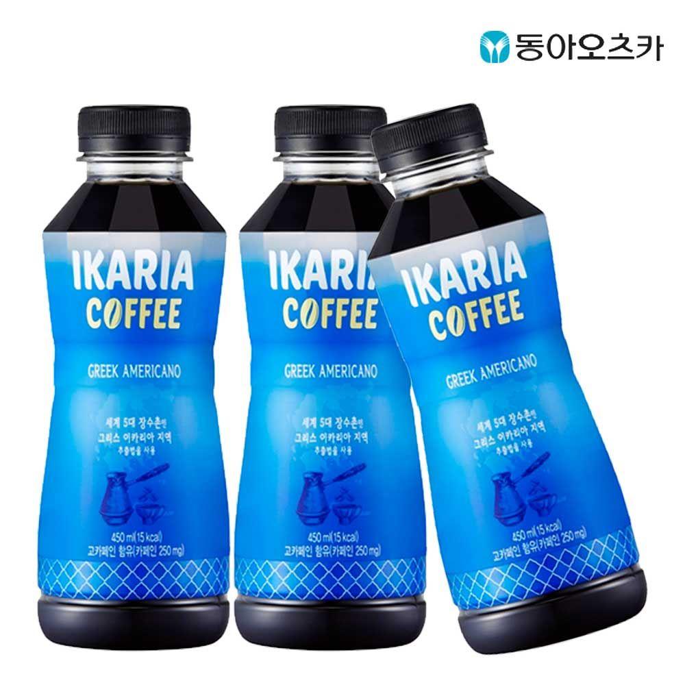 이카리아 커피 450ml X 6개 프리미엄 아메리카노