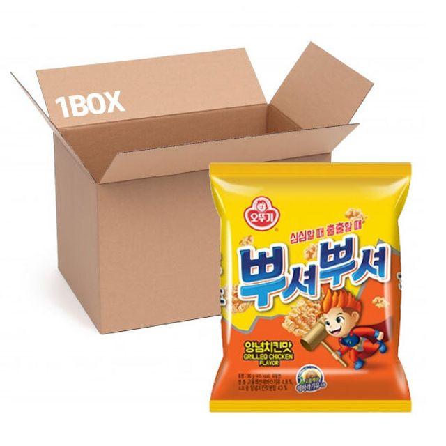 오뚜기 뿌셔뿌셔(양념치킨맛) 90g (1box 40입)