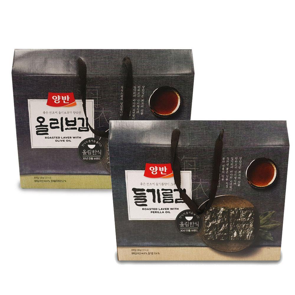 양반김 선물세트 들기름김 올리브김 김선물세트