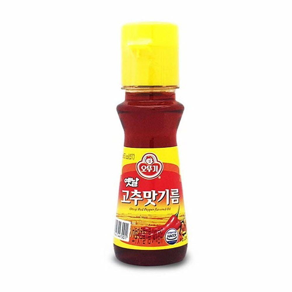 만능 기름 오뚜기 매콤 고소한 고추맛 기름 80ml